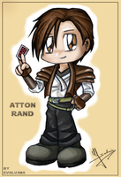 Atton Rand - chibi by Evolvana