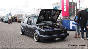 1991 VW Golf Cabrio by compaan-art