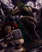 Ogre attack by gaering
