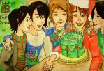ARASHI-Happy Holidays by naked-link