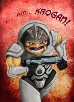 I.. Am... KROGAN by north-green