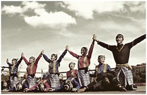 Saman Dance by strokeover