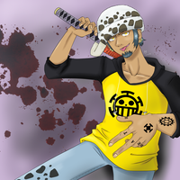 Trafalgar Law by CartoonOwl