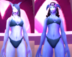 Draenei by Gothic--Rouge