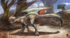 Creature test2 by Mikeypetrov