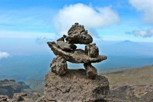 Kilimanjaro Cairn by Falassion