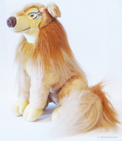 Flo Plush - All Dogs go to Heaven by PlasticForest