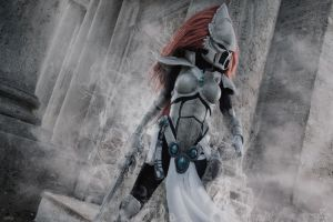 Dawn of War III - Eldar Howling Banshee cosplay by Narga-Lifestream