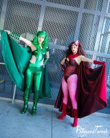 F15 - Polaris and Scarlet Witch by BlizzardTerrak