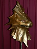 Dark Souls - Dragon Slayer Ornstein Helm Finished by Cosarmor