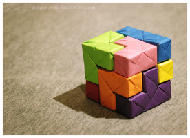 Tetris Sonobe Cube by ginger-paw
