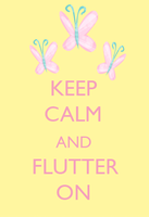 Keep Calm and Flutter On by SuperNiall64