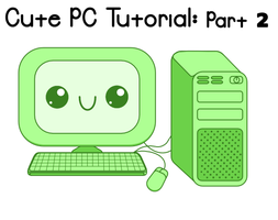 Cute PCs Inkscape Tutorial Preview 2 by Paradasia