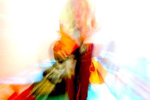abstract guitar playing cha by 11zbratto