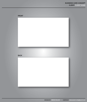 Business Card Template by Abdussalam