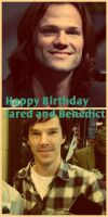 Happy Birthday Jared and Benedict :) by holster262
