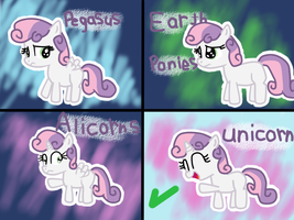 Sweetie Belle's Kinds by Yasmeen-444