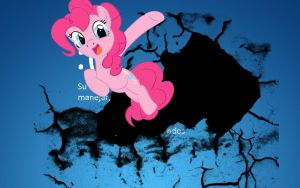 Pinkie pie is the best blue screen by Sashapie400