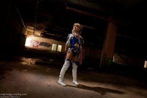 Stop fighting girl.. - Cassandra from Soul Calibur by drummerina