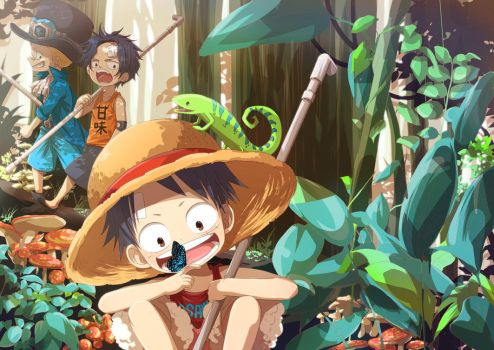 Jungle Expedition by TheScarletBerserker