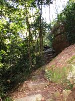 Rocky Stairway around a mountain by AnyaAllyn