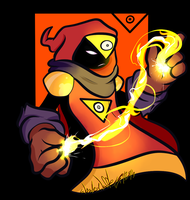 Wafeenie the Fire Mage by Wonder-Waffle