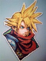 Cloud from Kingdom Hearts (A better picture) by rofucker