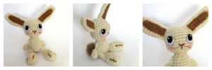 Amigurumi Crochet Bunny Rabbit by Windowsillcharms
