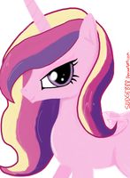 Princess Cadence/Cadance Portrait by Sludge888