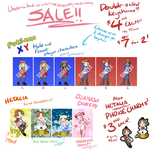 Umeko's Back-to-school Keychain Sale! by umeko-god