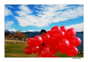 Red Balloons II by Bonfire22