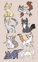 pick a cat by ClefdeSoll