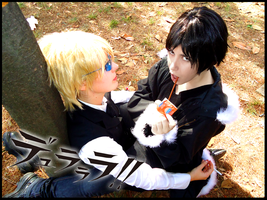 Durarara: Play it safe by Smexy-Boy