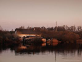 House by the River by Gustavs