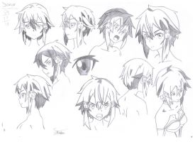 Sinon Study by Stades-Drawing