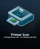 Printer Icon by michaelmknight