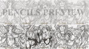 Grimm Fairy Tales Pencils Inks by NGoff