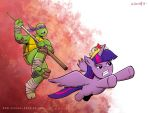 TMNT/My Little Pony Team Up! by mregina