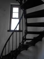 Stock: Lighthouse Stairwell by Stock-By-Michelle