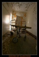 Hospital Gurney by Hoursofdarkness
