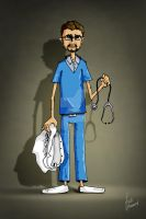 dr. laith cartoon by fadiawwad