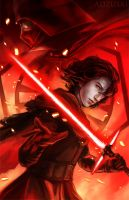Kylo Ren by AngelofDeathz