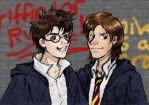 James and Sirius by laerry