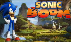 Sonic Boom - Sonic The Hedgehog by Knuxy7789
