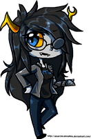 Chibi Vriska ::::D by AnarchicalMalkin