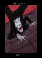Monster Month - Day 1 - Dracula by RtRadke