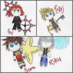 Kingdom Hearts Plushies :1 by jaksphantom