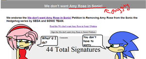 Anti-Amy petition: WTF by SecretxSonamyxLover