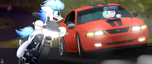 Commission - Down the highway by ShinodaGE