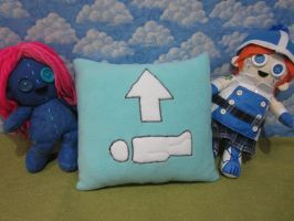 wakie pillow by Rei2jewels